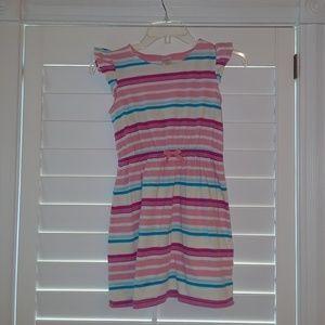 Gymboree girls Cotton drawstring Dress sz 10